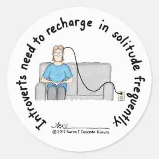 De Grondbeginselen van het introvert: De Sticker