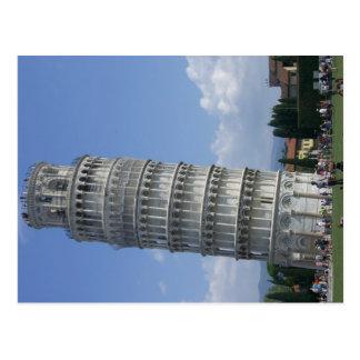de gronden leunen twr Pisa Briefkaart