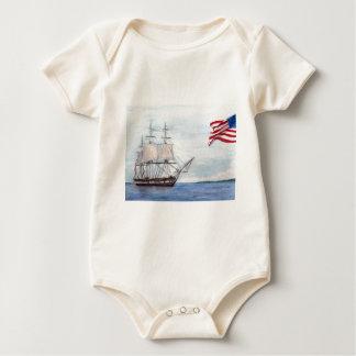 De Grondwet van USS Baby Shirt
