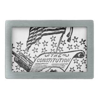 De Grondwet van Verenigde Staten Gesp