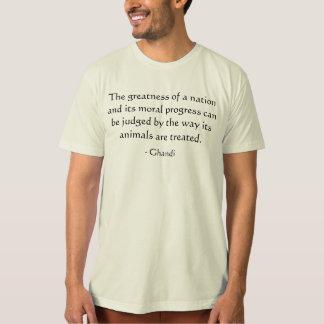 De grootheid van een natie… T-shirt