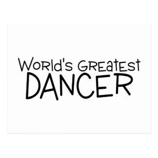 De Grootste Danser van werelden Briefkaart