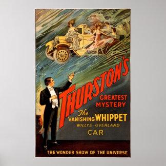 De grootste geheimzinnigheid van Thurston Poster