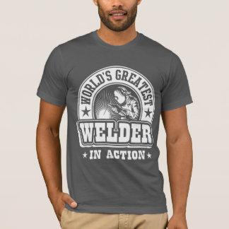 De Grootste Lasser van de wereld in Actie T Shirt
