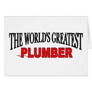 De grootste Loodgieter van de Wereld Kaart