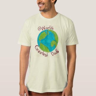 De Grootste Papa van de wereld T Shirt
