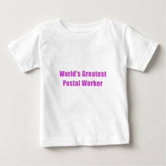 De Grootste PostArbeider van werelden Baby T Shirts