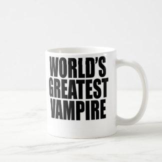 De Grootste Vampier van de wereld Koffiemok