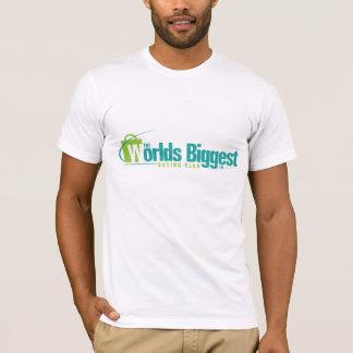 De grootste Werelden: Het gepaste Wit van de T Shirt
