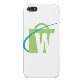 """De grootste Werelden: iPhone """"W"""" Hoesje"""