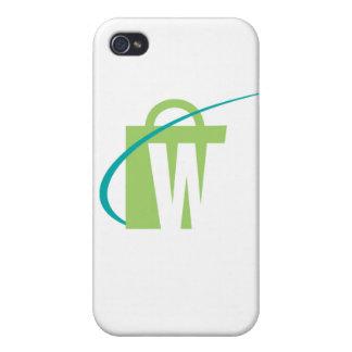 "De grootste Werelden: iPhone ""W"" Hoesje iPhone 4 Hoesje"