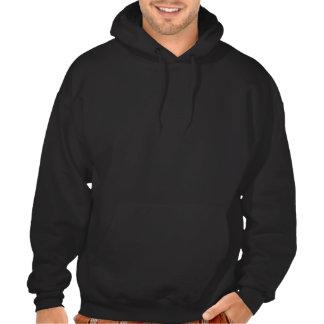De grootste Werelden Mannen Zwarte Hoodie Met twe