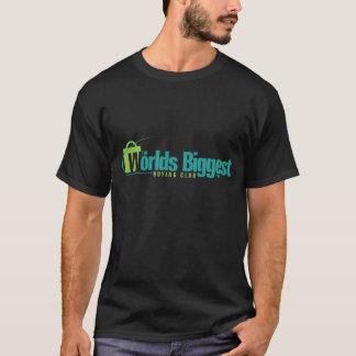 De grootste Werelden: Zwarte T-shirt met twee