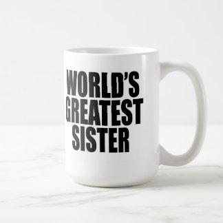 De Grootste Zuster van de wereld Koffiemok