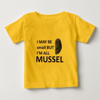 De Grootte van de mossel Baby T Shirts