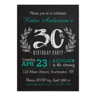 De grote 30ste Uitnodiging van de Verjaardag