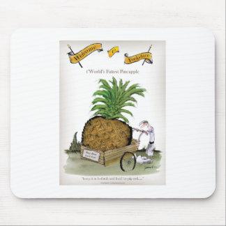 De grote ananassen van Yorkshire van de liefde Muismat