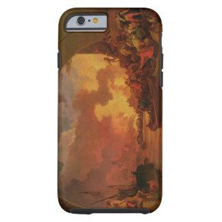 De grote Brand van Londen, c.1797 (olie op canvas) Tough iPhone 6 Hoesje