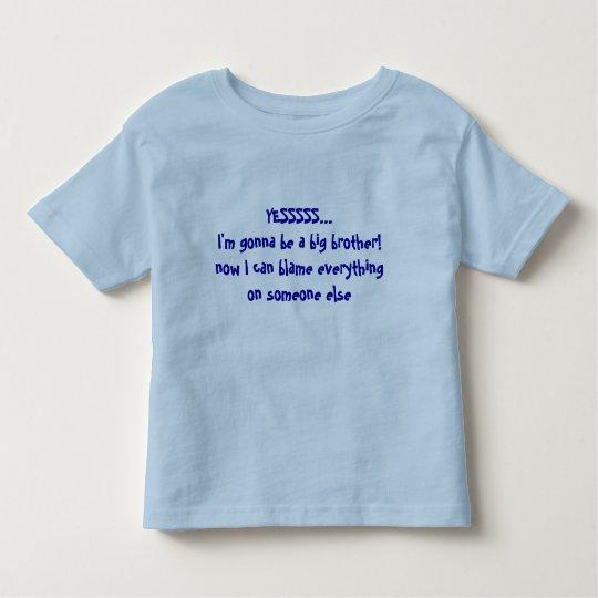 De Grote Broer van de Aankondiging van het baby - Kinder Shirts