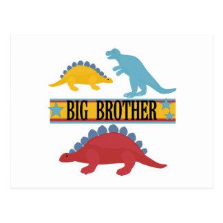 De Grote Broer van de dinosaurus Briefkaart