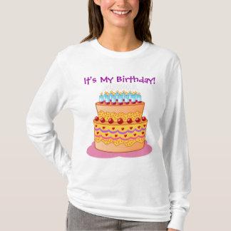 De grote Cake van de Verjaardag T Shirt