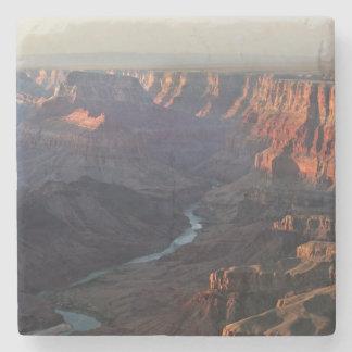 De grote Canion en Rivier van Colorado in Arizona Stenen Onderzetter