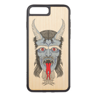 De grote Demon Carved iPhone 7 Plus Hoesje