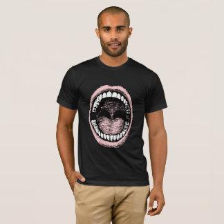 De grote Donkere Mannen T-shirt van de Mond