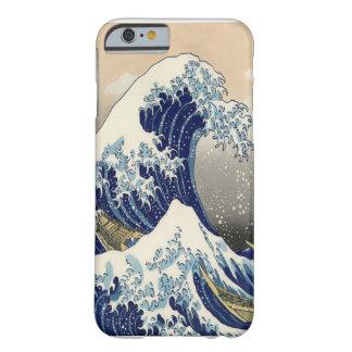 "De grote Fijne Kunst van de Golf 葛飾北斎 ""神奈川沖浪裏"" Barely There iPhone 6 Hoesje"