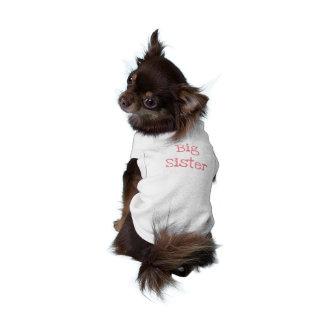 De grote Geribbelde Tanktop van Doggie van de T-shirt