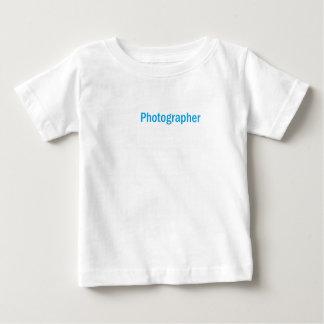 De Grote Gift van de fotograaf Baby T Shirts