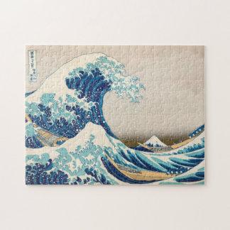 De grote Golf bij Raadsel Kanagawa Puzzel