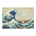 De grote Golf van Kanagawa Canvas Print