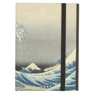 De grote Golf van Kanagawa iPad Air Hoesje