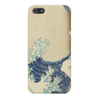 De grote Golf voor de kust van Kanagawa iPhone 5 Case