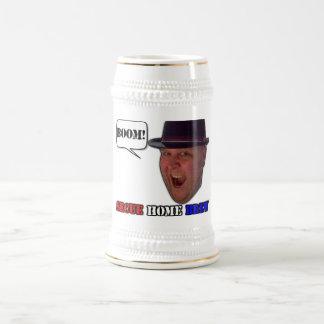 De grote Grote Stenen bierkroes van het Bier Secue Bierpul