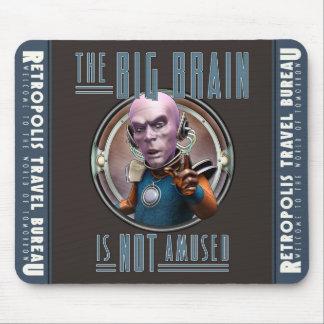 De grote Hersenen zijn het geen Geamuseerde Stootk Muismat