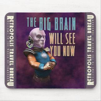 De grote Hersenen zullen u nu het Stootkussen van  Muismat