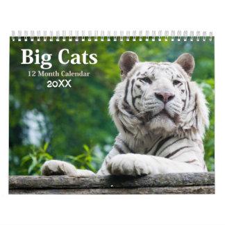De grote Kalender 2018 van het Wild van Katten