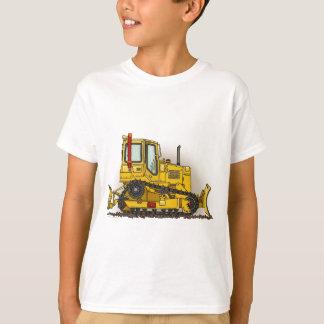 De grote Kinder T-shirt van de Bulldozer van de