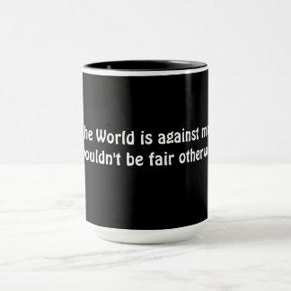 De grote Kop van de Mok/van de Koffie