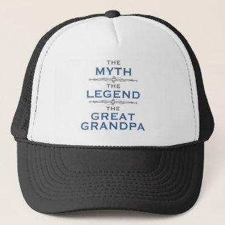 De Grote Opa van de Legende van de mythe Trucker Pet