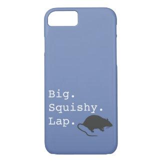 De grote Rat van de Overlapping Squishy iPhone 8/7 Hoesje