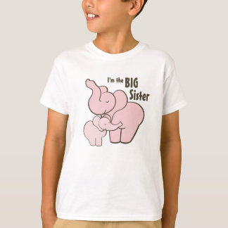 De grote Roze Olifant van de Zuster T Shirt