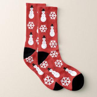 De Grote Sneeuwvlokken & de Sneeuwmannen van Sokken