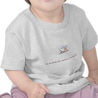 de grote spatie van de zustert-shirt, de Familie v