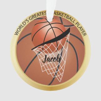 De grote Speler van het Basketbal Ornament