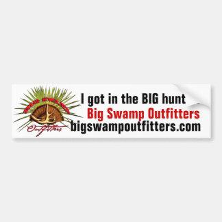 De grote Sticker van de Bumper van het Moeras