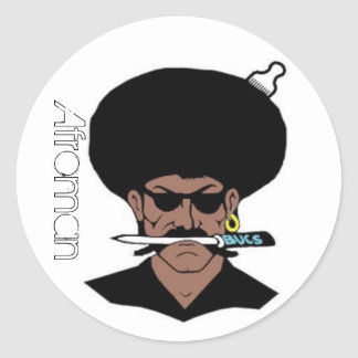(De Grote) Stickers van Afroman