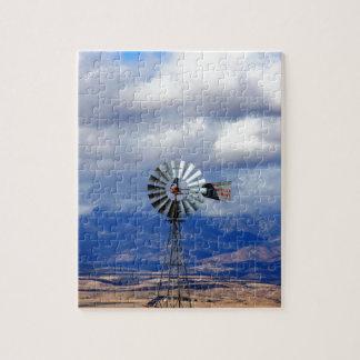 De grote Westerne Windmolen Legpuzzel
